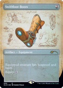 Swiftfoot Boots - Secret Lair