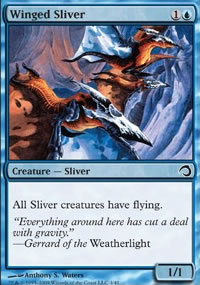 Winged Sliver - Premium Deck Series: Slivers
