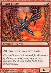Heart Sliver - Premium Deck Series: Slivers