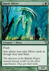 Quick Sliver - Premium Deck Series: Slivers