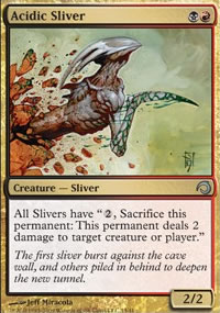 Acidic Sliver - Premium Deck Series: Slivers