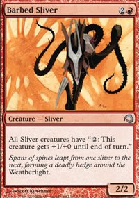 Barbed Sliver - Premium Deck Series: Slivers