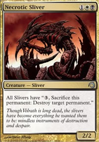 Necrotic Sliver - Premium Deck Series: Slivers