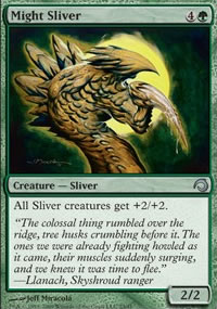 Might Sliver - Premium Deck Series: Slivers