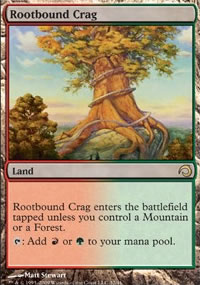 Rootbound Crag - Premium Deck Series: Slivers