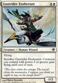 Gustrider Exuberant - Shards of Alara