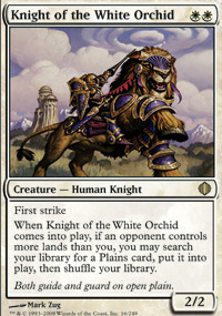 Knight of the White Orchid - Shards of Alara
