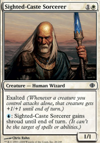 Sighted-Caste Sorcerer - Shards of Alara