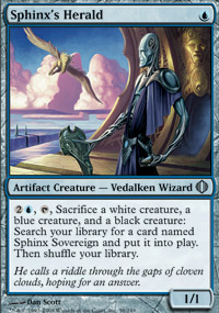 Sphinx's Herald - Shards of Alara