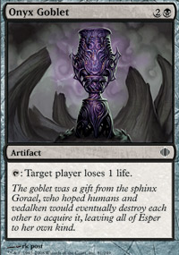 Onyx Goblet - Shards of Alara