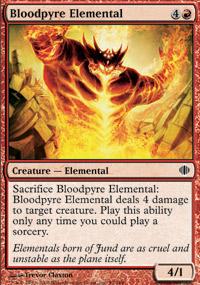 Bloodpyre Elemental - Shards of Alara