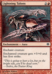 Lightning Talons - Shards of Alara