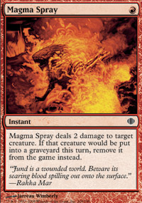 Magma Spray - Shards of Alara