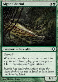 Algae Gharial - Shards of Alara