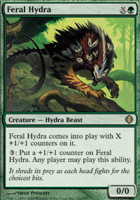 Feral Hydra - Shards of Alara