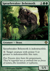 Spearbreaker Behemoth - Shards of Alara