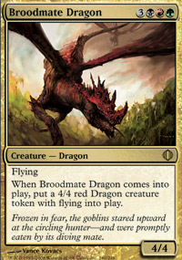 Broodmate Dragon - Shards of Alara