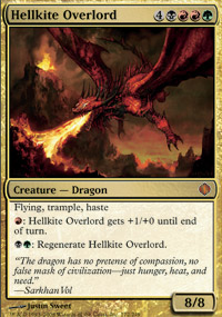 Hellkite Overlord - Shards of Alara