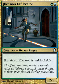Jhessian Infiltrator - Shards of Alara