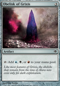 Obelisk of Grixis - Shards of Alara