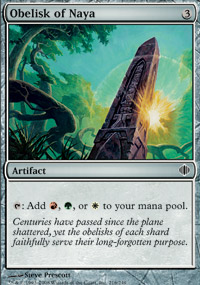 Obelisk of Naya - Shards of Alara