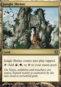 Jungle Shrine - Shards of Alara