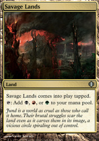Savage Lands - Shards of Alara