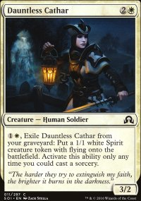 Dauntless Cathar - Shadows over Innistrad