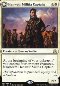 Hanweir Militia Captain - Shadows over Innistrad