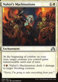 Nahiri's Machinations - Shadows over Innistrad
