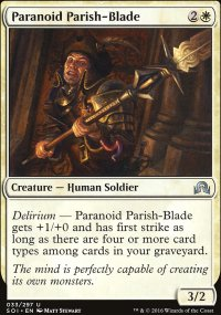 Paranoid Parish-Blade - Shadows over Innistrad