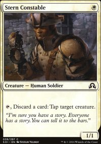 Stern Constable - Shadows over Innistrad