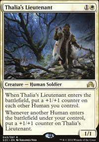 Thalia's Lieutenant - Shadows over Innistrad