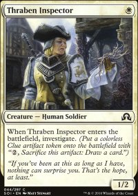 Thraben Inspector - Shadows over Innistrad