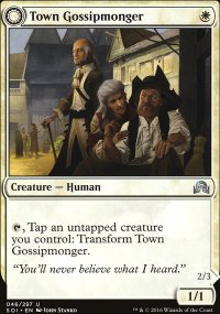 Town Gossipmonger - Shadows over Innistrad