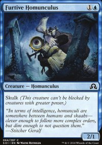 Furtive Homunculus - Shadows over Innistrad