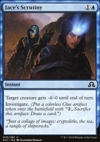 Jace's Scrutiny - Shadows over Innistrad