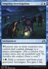 Ongoing Investigation - Shadows over Innistrad