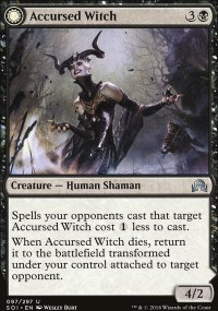 Accursed Witch - Shadows over Innistrad