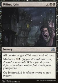 Biting Rain - Shadows over Innistrad