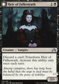Heir of Falkenrath - Shadows over Innistrad
