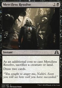 Merciless Resolve - Shadows over Innistrad