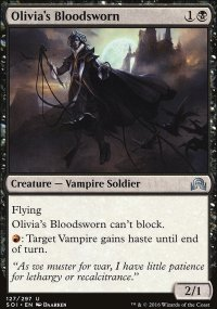 Olivia's Bloodsworn - Shadows over Innistrad