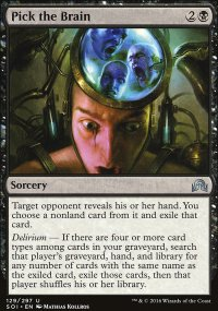 Pick the Brain - Shadows over Innistrad