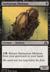 Sanitarium Skeleton - Shadows over Innistrad