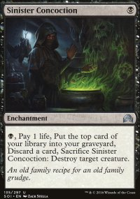 Sinister Concoction - Shadows over Innistrad