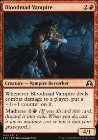 Bloodmad Vampire - Shadows over Innistrad