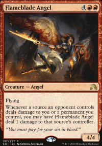 Flameblade Angel - Shadows over Innistrad