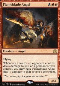 Flameblade Angel - Shadows over Innistrad