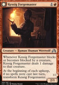 Kessig Forgemaster - Shadows over Innistrad